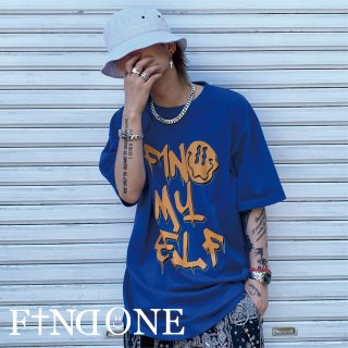 【7/4 22:00〜販売開始】F1ND ONE F1ND MY SELF T-shirt