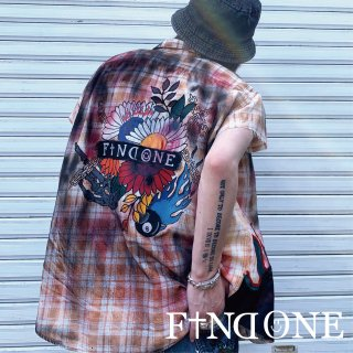 【7/10 22:00〜販売開始】F1ND ONE Remake No Sleeve Shirt