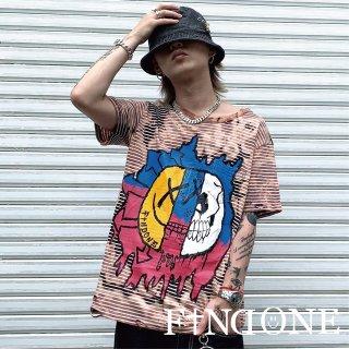 【7/10 22:00販売開始】F1ND ONE Remake Border T-shirt