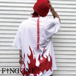 【7/23 22:00〜販売開始】F1ND ONE Shadow of Flame T-shirt