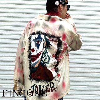 【8/1 22:00〜販売開始】F1ND ONE ART Remake Jacket