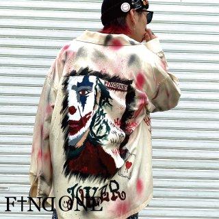 【8/1 22:00〜販売開始】F1ND ONE ART Remake Jacket