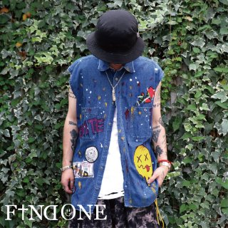 【8/11 22:00〜販売開始】F1ND ONE ART Remake Vest