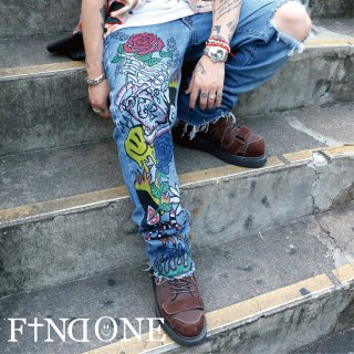 【8/11 22:00〜販売開始】F1NDONE WORLD OF WORLD Denim