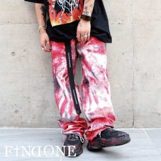 【8/23 22:00〜販売開始】F1ND ONE Dye Up Pants