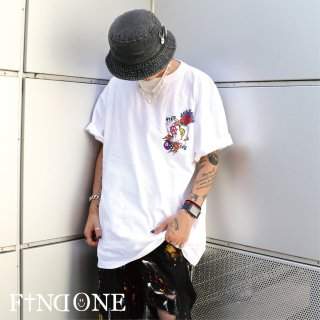 【9/12 22:00〜販売開始】F1ND ONE Original Art Paint T-Shirt