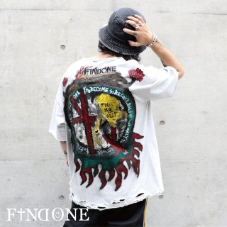 【9/17 22:00〜販売開始】F1ND ONE Prayers T-Shirt