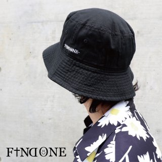 【9/26 22:00〜販売開始】F1ND ONE Logo Big Bucket Hat