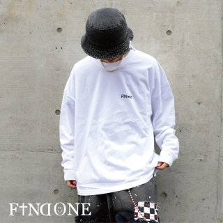 【10/8 22:00〜販売開始】F1ND ONE Label to Long T-shirt