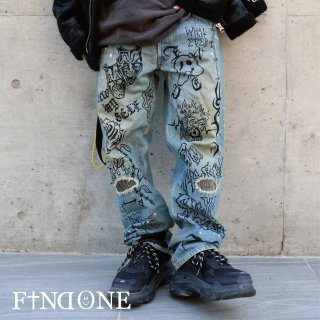【11/2 22:00〜販売開始】F1ND ONE One Stroke Denim