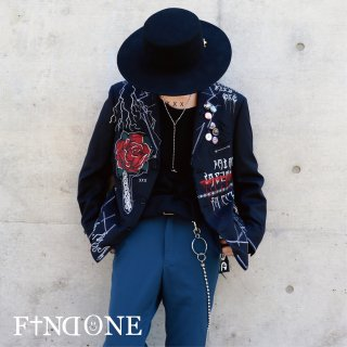 【11/6 22:00〜から販売開始】F1ND ONE Graffiti Short Jacket