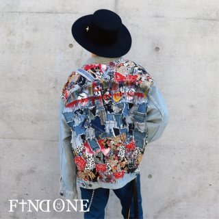 【11/6 22:00〜販売開始】F1ND ONE Different Material Jacket