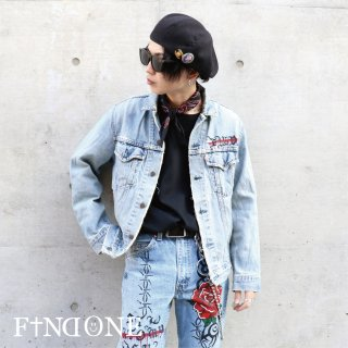【11/15 22:00〜販売開始】F1ND ONE Rouzéi Denim Jacket