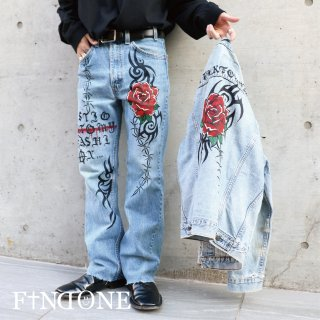 【11/15 22:00〜販売開始】F1ND ONE Rouzéi Denim Pants