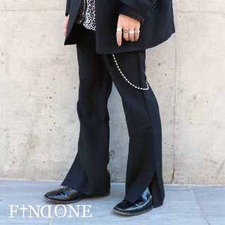 【11/27 22:00〜販売開始】F1ND ONE Slit Flared Pants