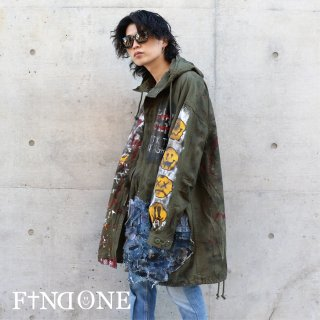 【12/4 22:00〜販売開始】F1ND ONE Remake Grunge Coat