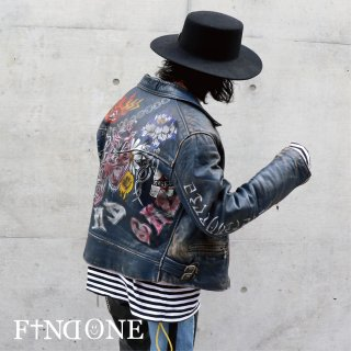 【12/20 22:00〜販売開始】F1ND ONE Old Commemorative Jacket 【γ】