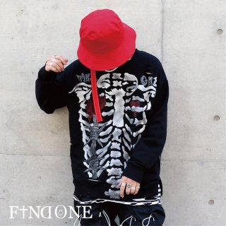 【1/8 22:00〜販売開始】F1ND ONE Remake Graph Sweat