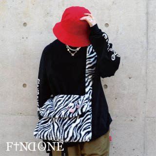 【1/14 22:00〜販売開始】 F1ND ONE Zebra Messenger Bag