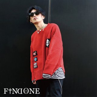 【1/22 22:00〜販売開始】F1ND ONE Strings Knit