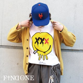 【3/3 22:00〜販売開始】F1ND ONE Not Smilng T-Shirt