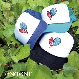 【5/29 22:00〜販売開始】F1ND ONE Heart Logo Mesh Cap