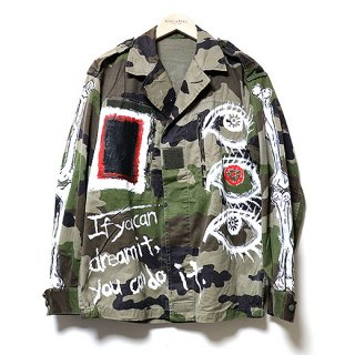 <img class='new_mark_img1' src='//img.shop-pro.jp/img/new/icons59.gif' style='border:none;display:inline;margin:0px;padding:0px;width:auto;' />KinCrossWorld Remake Military Jacket