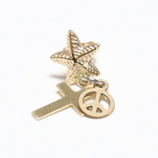 KinCrossWorld 14GFD☆PEACE Pierce