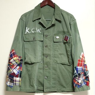 <img class='new_mark_img1' src='//img.shop-pro.jp/img/new/icons1.gif' style='border:none;display:inline;margin:0px;padding:0px;width:auto;' />KinCrossWorld Remake Military Jacket