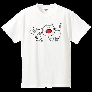 Tシャツ【ねことちゅうたろう】
