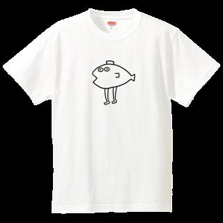Tシャツ【へんなさかな】