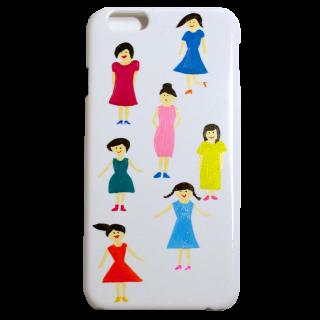 限定iPhone6ケース【直筆女の子たち2】
