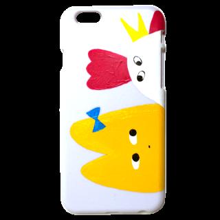 限定iPhone6ケース【直筆よしこととり ホワイト】