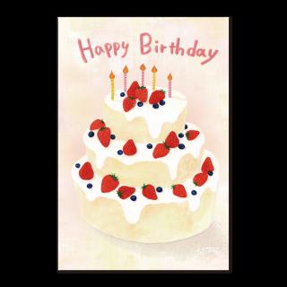 ポストカード【Happy Birthday】
