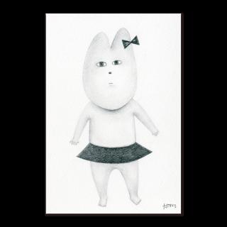 ポストカード【デッサンよしこ】