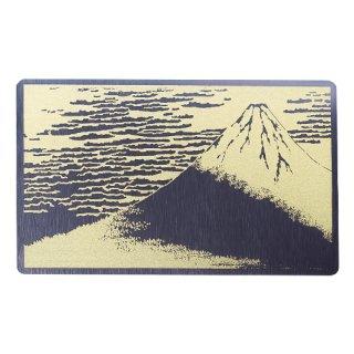 浮世絵・金の富士/金