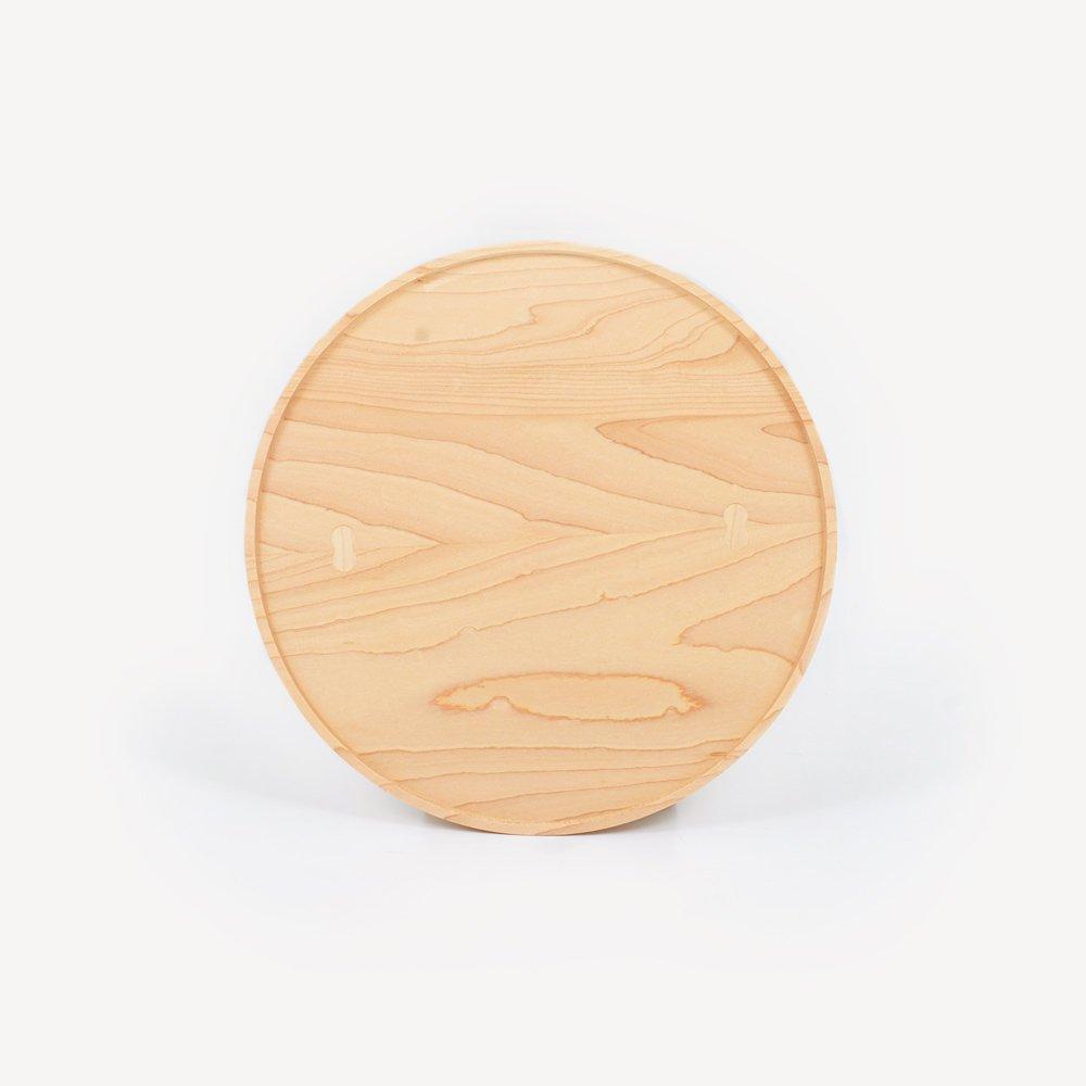 木地挽き盆