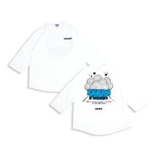【FUNKA FUNK=噴火ファンク】ラグラン 3/4スリーブTシャツ