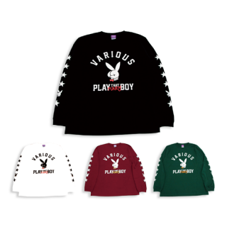 <img class='new_mark_img1' src='https://img.shop-pro.jp/img/new/icons40.gif' style='border:none;display:inline;margin:0px;padding:0px;width:auto;' />【PLAY THAT FUNKY BOY】ロングスリーブTシャツ