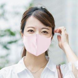 【メール便配送・代引不可・送料無料】皮膚感覚マスク1枚(梱包手数料込)無地