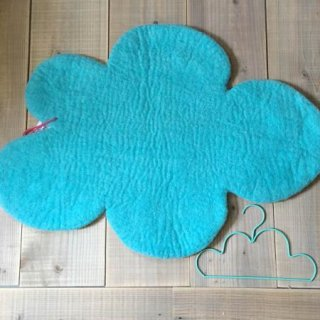 Stef  collection  cloud  rug  lightblue