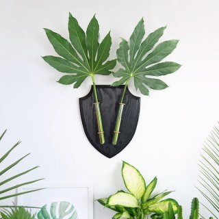 <img class='new_mark_img1' src='https://img.shop-pro.jp/img/new/icons14.gif' style='border:none;display:inline;margin:0px;padding:0px;width:auto;' />Eco-Deer Black (wall vase)