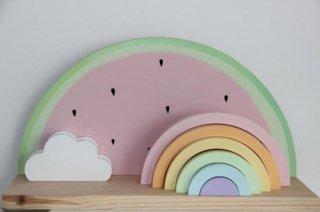 Wood Rainbow