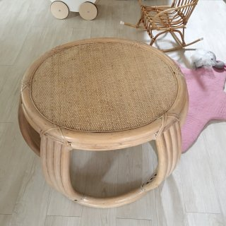 Vintage Round ratan table