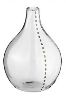 RADER Flower Vase silver Dot Line