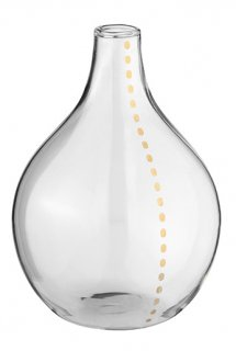 RADER Flower Vase gold Dot Line