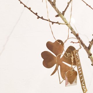 Walther&Co Brass clover