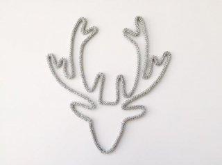Petit-etoile  areindeer silver