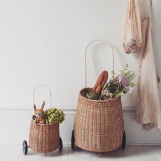 OlliElla Luggy Basket  natural
