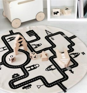 <img class='new_mark_img1' src='https://img.shop-pro.jp/img/new/icons14.gif' style='border:none;display:inline;margin:0px;padding:0px;width:auto;' />Ooh noo Toy Pram Little Village Baby Play Mat